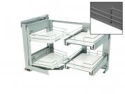 SMACE45DX Smart corner polcrendszer /jobbos/