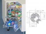 ML077F 360'-os Multifunkciós forgókosár