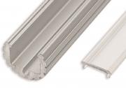LL-06 Alumínium ovális csavarozható