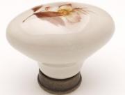 P01 antikolt bronz-barna virág